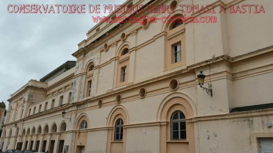 CONSERVATOIRE DE MUSIQUE HENRI TOMASI À BASTIA