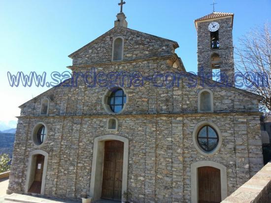 Corse Antisanti église