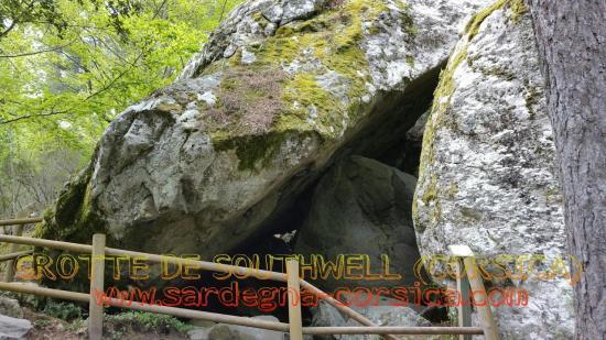 GROTTE DE SOUTHWELL (CORSICA) www.sardegna-corsica.com