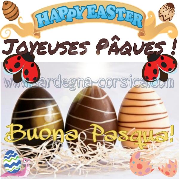 Buona Pasqua ! Joyeuses Pâques !