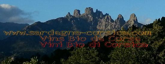 Aiguilles de bavella corsica vins bio de corse www sardegna corsica com