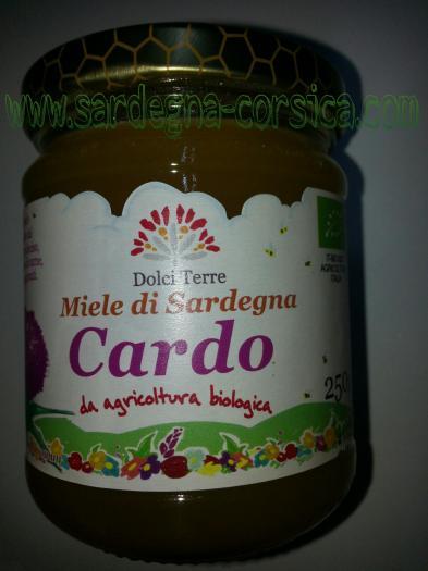 Miele di sardegna cardo bio www sardegna corsica com