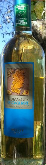 Vin blanc de sardaigne nuragus di cagliari sardegna